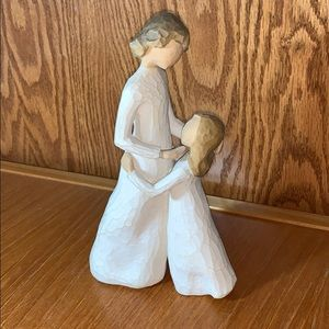 """Willow Tree, """"Mother and Daughter"""" 2000 figurine"""